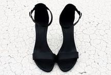 I Love Shoes / Shoes, high heel, black and color ... / by Clemence Guimpied