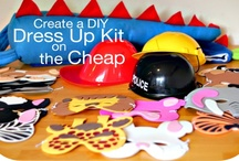 Let's Play Dress Up! / All about playing dress up! Homemade items, organization, and play ideas.