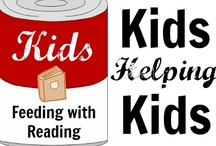Giving Back / Ways for kids and families to help others.