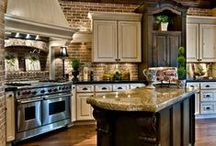 Kitchens / My favorite room in a house is the kitchen! I have so many ideas! / by Renee Angil