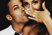 Mariage / Robes / Décorations / Bague / Fleurs / Photo de couple