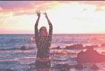 inspiration // beach: dawn