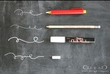Chalkboards / by The Crafted Sparrow