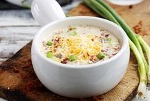 Recipes - Soups & Chilis / Delicious soup and chili recipes perfect for cold weather or all through the year.
