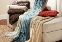 Blankets & Throws / by JulieAnne Fitch