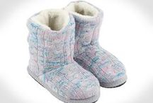 Slippers! Winter 2013-14 / Save on your heating bill, keep your feet warm with our fluffy, cool slippers...