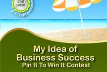 How I Celebreate Business Success / www.InfoGraphBash.com contest. How do YOU celebrate business success?  / by Cheryl Heppard