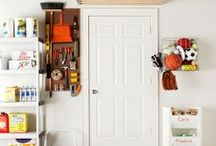 Rock The Garage / Declutter and organize the garage. Transform it from a nonfunctional mess to a lovely functional place.