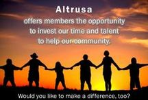 Altrusa / Altrusa International - an organization of dedicated volunteers who make a difference in their communities