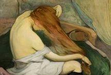 """Se coiffer / Retrouvez ici les illustrations de mes articles """"cheveux"""" sur le blog http://commeungardon.blogspot.fr, ainsi que les photographies qui m'inspirent ou me motivent trouvées ailleurs sur le net."""