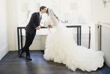 Loving that dress! / Paparazzi for gorgeous wedding gowns...