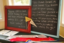 Happy Graduation! / Oh the Places You'll Go, kiddo!   Dr. Seuss theme