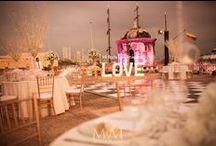 Reception settings & Nice touches / by Mi Boda En Cartagena *