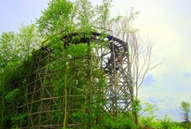 Abandoned Amusement Parks, Old & Forgotten ??? / by Bonnie