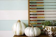 Fall Decorating / Celebrate fall in style!