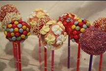 Creative Cake Pops / why not try making your own creative cake pops with our cake pop maker at www.gourmetgadgetry.com