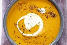 Soup Recipes / We spend a lot of time trekking through snow around here! Our fave comfort food for cold Canadian winters?? SOUPS!