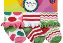 Festive things for your feet and legs! / Party socks and tights for kids of all ages!