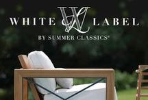 White Label Brand / For 2016, we are introducing WHITE LABEL. The collections paint the perfect brushstroke of luxury and elegance. No detail has been overlooked from finish to packaging. Every curve of the hybrid mixed materials expresses our tradition of quality and style. Available only from exclusive retailers and designers, these products are for the most selective of clients who believe in luxury without compromise. WHITE LABEL is dedicated to those in pursuit of the best moments in life. / by Summer Classics