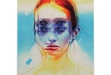 Alex Garant / Queen of Double Eyes, Alex Garant studied visual arts at Notre-Dame–De-Foy College just outside Quebec City. After graduating in 2001, she ultimately settled in Toronto, Canada. Alex has shown works all over Canada and the United States as well as Portugal and Australia.