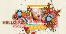 AUTUMN   ForeverJoy Digital Scrapbookng / Digital Scrapbooking layouts featuring all the joys of Autumn: Fall Festivals, Apple Picking  Halloween, Thanksgiving, Fall, Pumpkins and more!   using ForeverJoy products