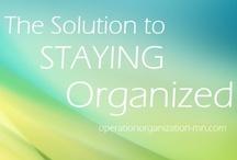 ORGANIZATION : Solutions / by Heidi Leonard - OperationOrganizationbyHeidi