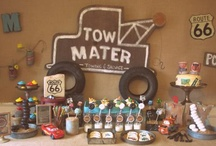Cars / Everything Cars related and Porter's 3rd birthday party inspiration board.