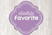 Absolute favorite things