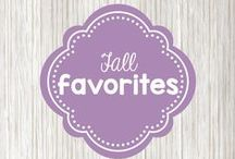 fall favorites / a collection of all things fall - recipes, craft ideas,  getaways, and outfits