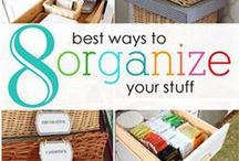 ORGANIZAION : storage solutions / by Heidi Leonard - OperationOrganizationbyHeidi