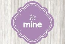 be mine! / Cute ideas for Valentine's Day - recipes, projects, cards, and date ideas
