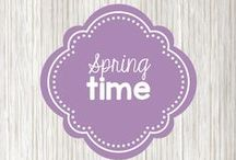 springtime! / Everything great for spring - ideas for spring holidays, recipes, and craft projects