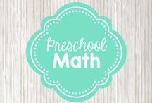 Preschool Math / activities for learning numbers and counting in preschool