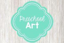 Preschool Art / art project ideas for preschoolers
