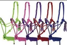 Halters & Leads / 100's more at www.chicksaddlery.com