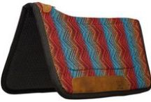 Saddle Pads ❥ ❥ ❥ / 100's more saddle pads at www.chicksaddlery.com