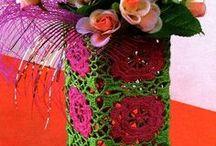 ♥ make it ~ yarn bomb / yarn, yarn, everywhere! / by Kim Bee
