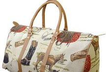 ♡ Equestrian Chic Bags ♡ / Horse-themed and zebra print handbags, purses, and luggage. More at www.chicksaddlery.com