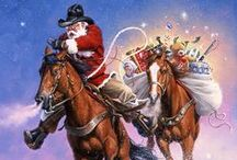 ❅❅ Equestrian Christmas ❅❅ / Holiday horse and Western themed items and inspiration. Find the perfect gift at www.chicksaddlery.com
