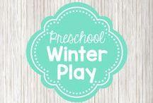 Preschool winter / preschool activities for winter; ice, snowmen, snow, arctic animals
