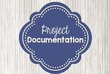 Project documentation / Ideas for documenting project work and displaying photos, documentation, and artwork.