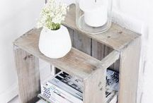 [ Home decor ] Pallets / Home decor and up-cycling inspiration with pallets.