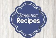 Classroom recipes / a collection of recipes for the ECE classroom - dough, paint, bubbles, slime, and more!