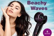 Curl Secret® / Take the work out of curling your hair with Curl Secret® —the revolutionary new way to create beautiful, shiny curls. Hair Goes In, Curls Come Out!™ / by Conair Beauty