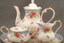 Tea for Two / Teapots/Teacups and saucers / by Lisa Watson