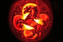 Horsey ♘ Halloween / Horse costume ideas, horse pumpkins, and more spooky fun!