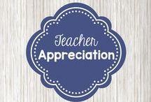 Teacher appreciation / gift ideas for teachers