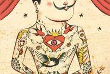Papa tatuado / Papa tatuado