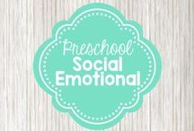 Preschool Social Emotional / Activities and ideas that promote social skills and awareness of emotions, as well as ideas to help children regulate their own emotions
