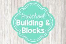 Preschool Blocks and Building / block play ideas for preschool